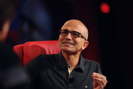 Microsoft's Satya Nadella talks Future At Code Conference