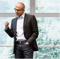 Satya Nadella Updates Microsoft Troops On Goals