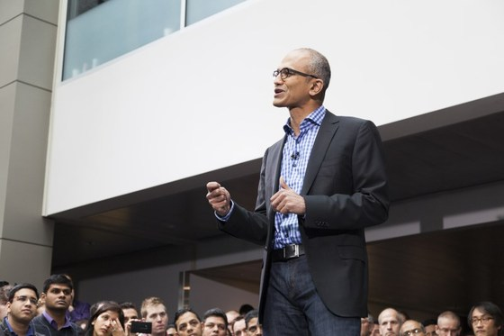 Microsoft's Satya Nadella Leads Microsoft Troops With Fiscal 2015 Email