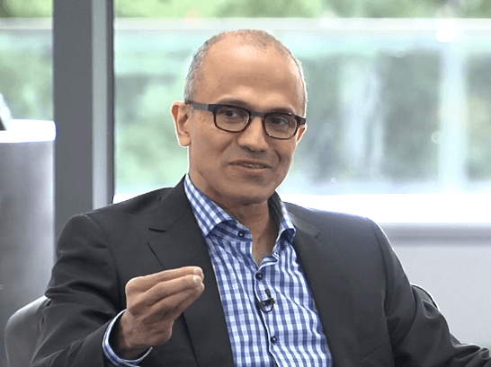 Microsoft's Satya Nadella Talks One Windows OS In Analyst Call