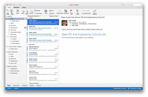 Microsoft Updates Outlook For Mac