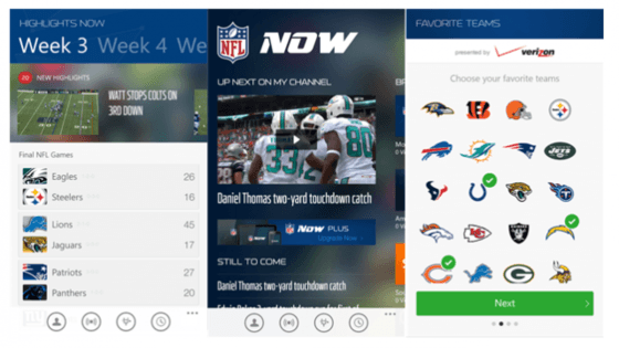 Microsoft Shows Off NFL Now For Windows Platforms