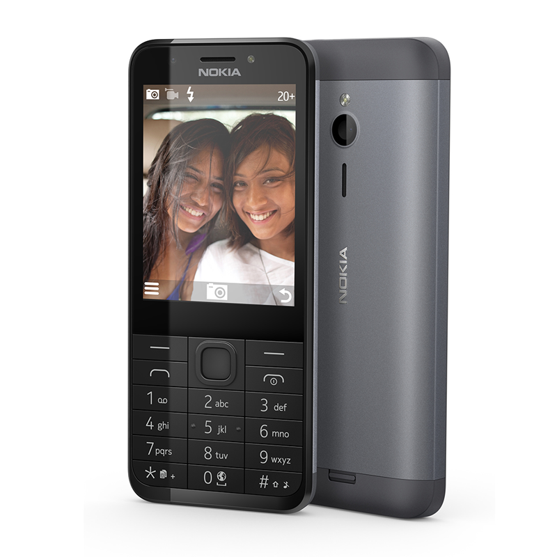 Microsoft Sells The Nokia 230 With Selfie Fans In Mind