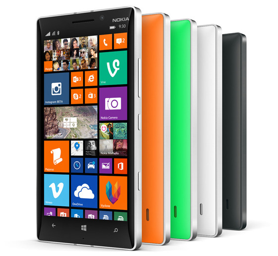 Microsoft's Lumia 930 Available In A Range Of Sexy Colors