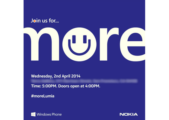 Nokia Announcing New Windows Phone 8.1 Hardware On April 2nd