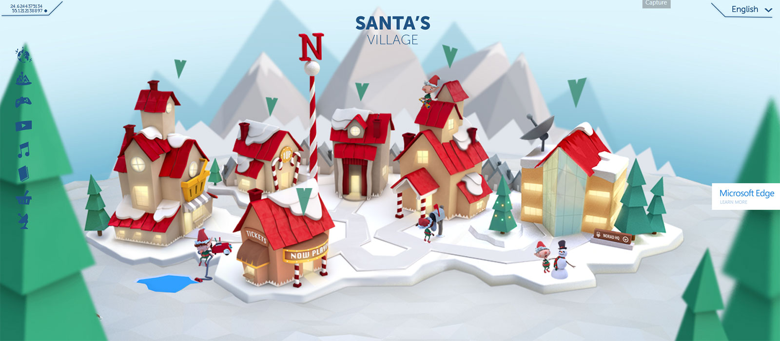 Microsoft Teams Up With NORAD For 2015 Santa Tracker