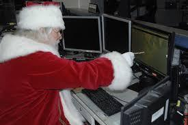 Santa Claus Uses Skype And Windows This Holiday Season