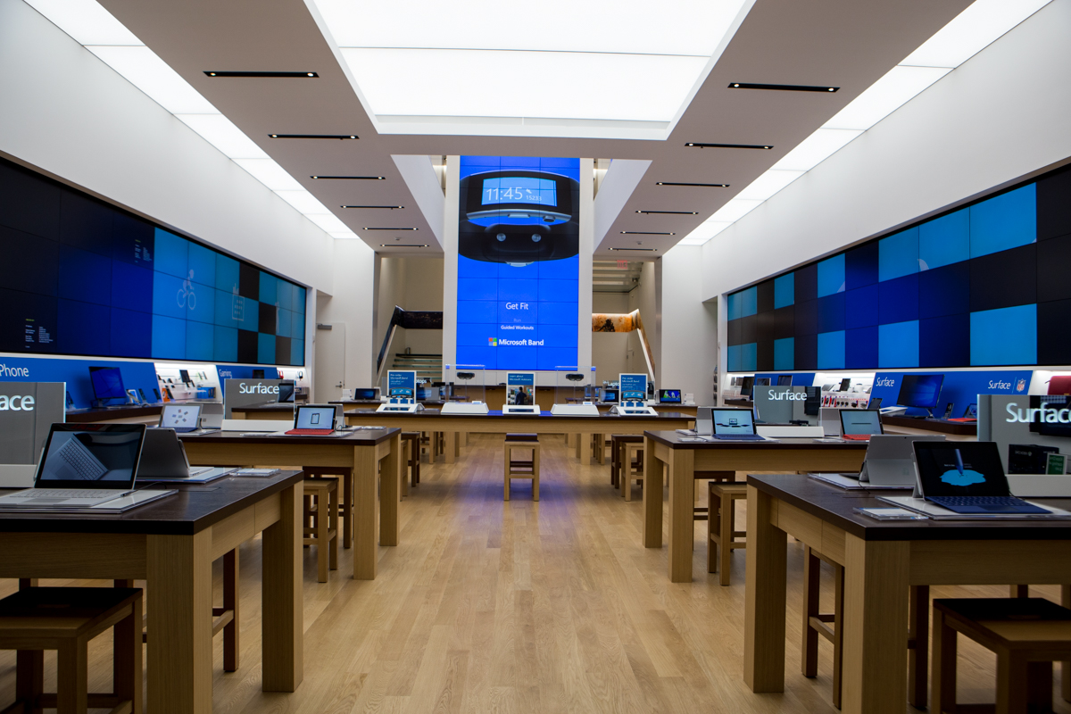 Microsoft Launches New York City Flagship Store On Monday