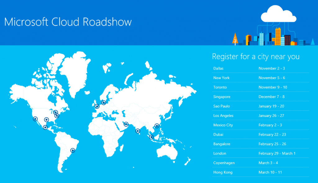 Microsoft Coordinates Road Shows For Office 2016 Rollouts For Businesses