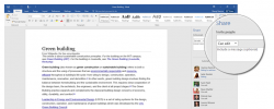 Office 2016 Gives Users New Sharing Tools
