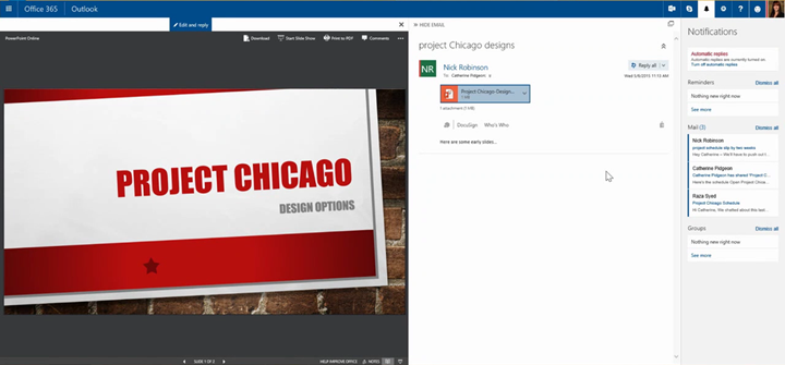 New User Experiences Come To Office 365 On The Web