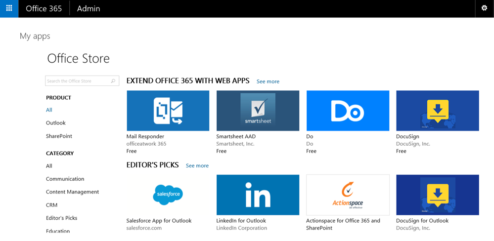 Microsoft Shows Off Office Store For Office 365 Users