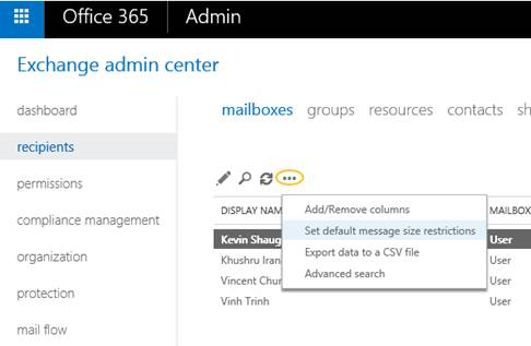 Microsoft Gives Office 365 Users Email Size Attachment Size Upgrades