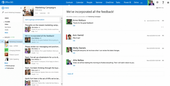 Microsoft Introduces Groups Features To Office 365 Users