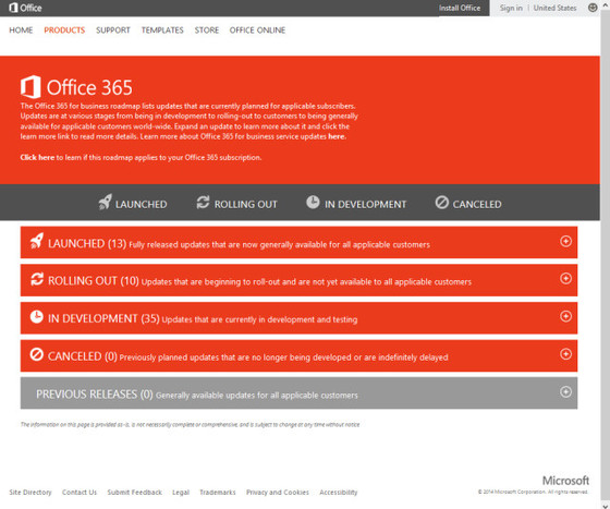 Microsoft Discusses Office 365 Roadmap And First Release