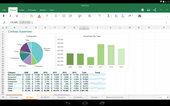 Microsoft Makes Word Docs Easy With Office On Android For Tablets