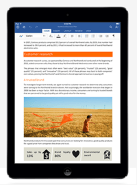 Office For iPad Gets In-App Subscription Plan