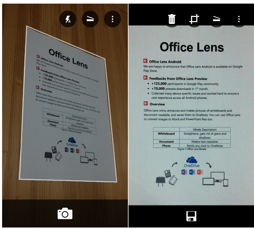 Microsoft Brings Office Lens App To Android