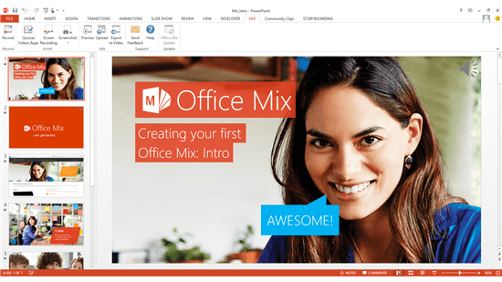 Microsoft Shows Off Office Mix Features For PowerPoint