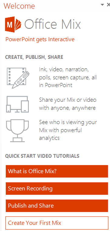 Microsoft Updates Office Mix Tutorials For Users