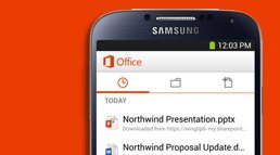 Office 365 Mobile now on Android OS