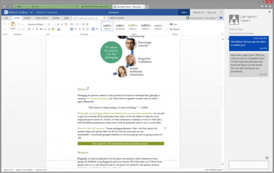 Microsoft Changes Document Writing And Collaboration With Updates