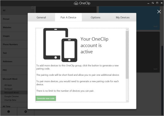 Microsoft Shows Off OneClip In Early Preview Mode By Accident