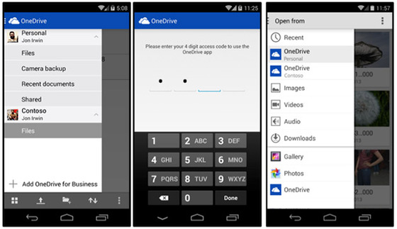 Microsoft Updates OneDrive For Android Product On Thursday