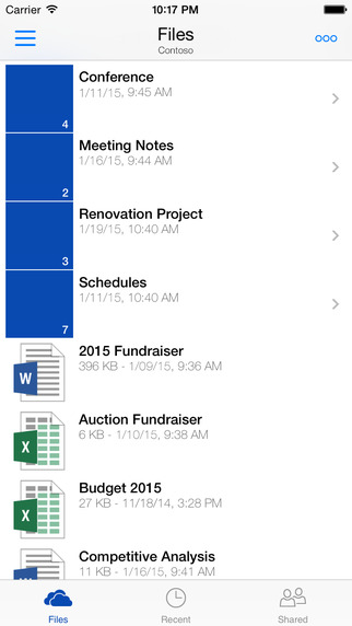OneDrive Update Gets Apple Watch Support