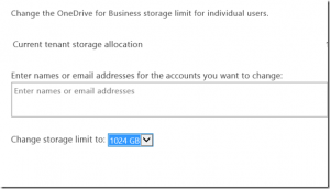 OneDrive For Business Gets 1TB Of Storage Upgrade