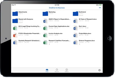Microsoft Updates Mobile Experience For OneDrive For Business Product