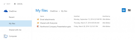 Microsoft Shows Off How Files Will Be Viewable Via OneDrive For Business Updates