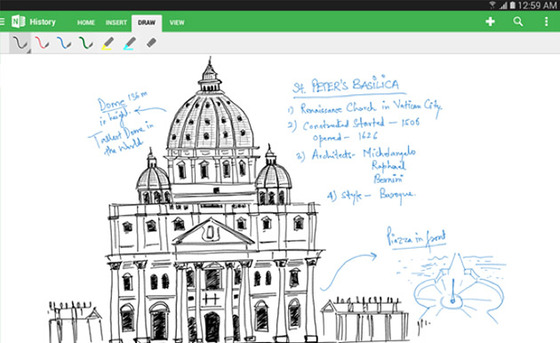 Microsoft Updates OneNote For Android Tablets