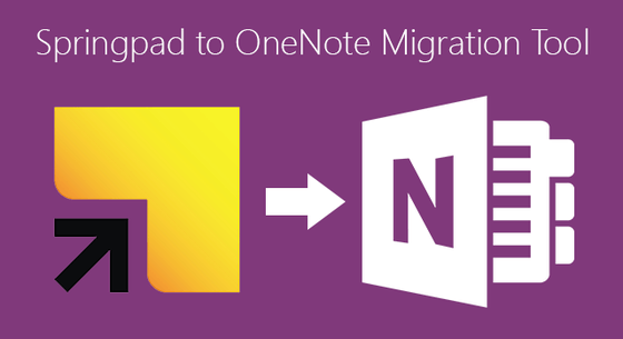 Microsoft Gives Springpad Users A Free Export Tool To OneNote
