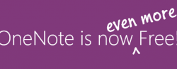 OneNote For Windows Made Officially Free