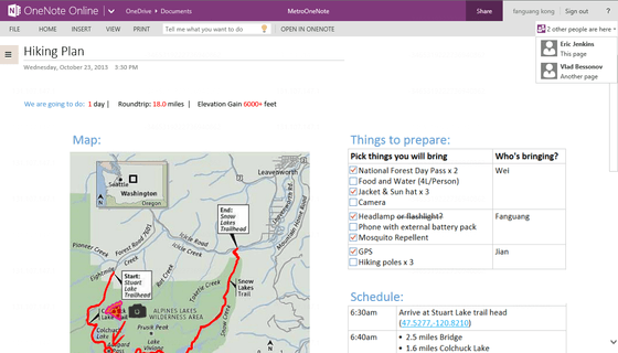 Microsoft's OneNote Online Gets Co-Authoring Updates On Wednesday