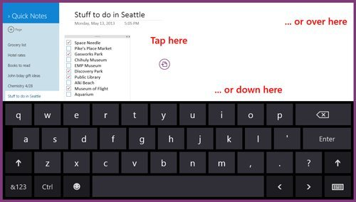 Microsoft OneNote Updated With Office 365 and Keyboard Support