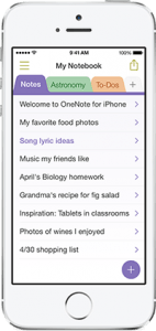 OneNote Gets Updates For iPhone And Mac