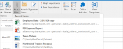 Outlook Attachments Get Collaborative