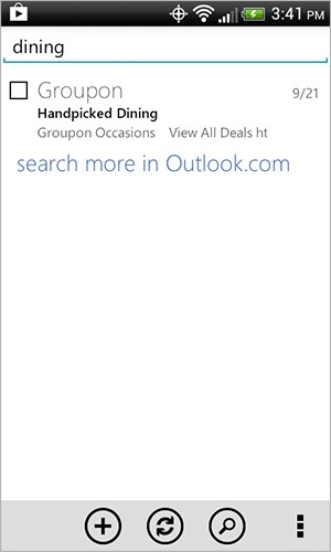 Outlook.com For Android Get Major Update