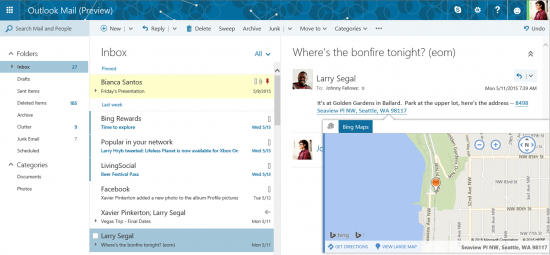 Microsoft Transforms Outlook.com With Major Updates