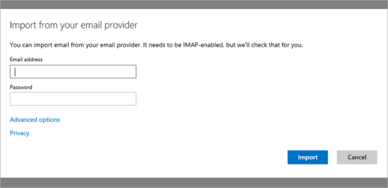 Microsoft Allows Importing Of All IMAP Accounts With Outlook Tool