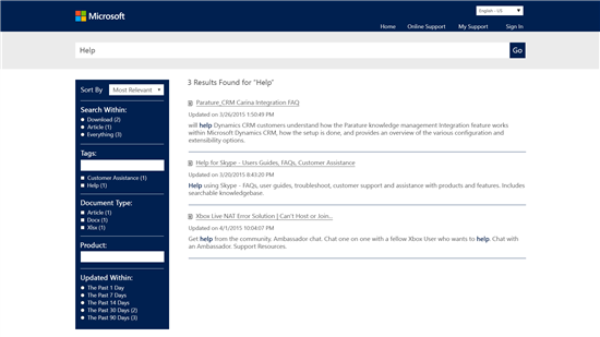 Microsoft's Parature Gives Agents Easier To Search Tools When Helping Customers