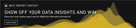 Microsoft Hosts Unique Power BI Report Contest