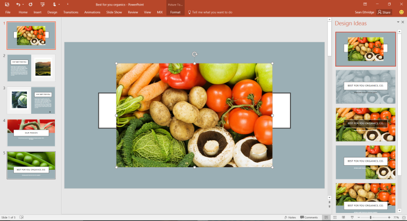 Microsoft Lets Users Jazz Up Presentations With PowerPoint Designer