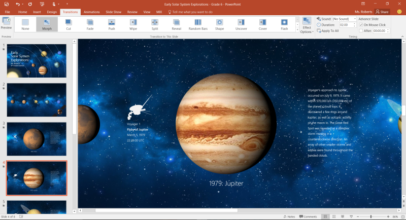 Microsoft Tests PowerPoint Morph For Animations