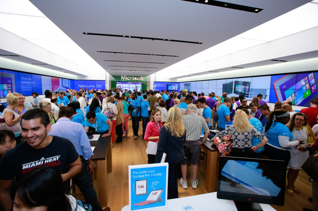 Microsoft Announces Sydney Microsoft Store Outside US=