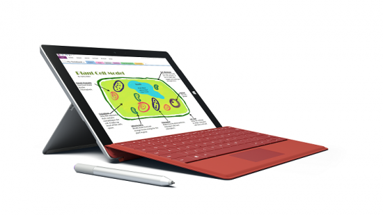 Microsoft's Surface 3 Goes Against Own Surface Pro 3