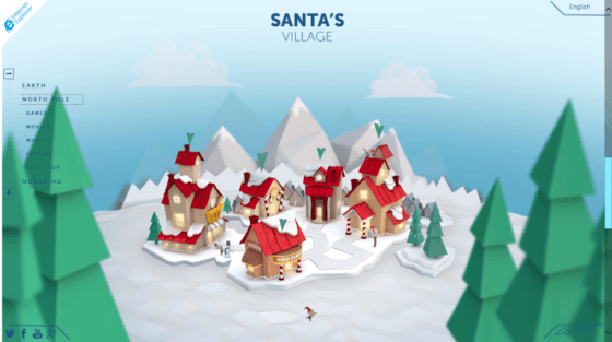 Microsoft Updates Santa Tracking Web App For Christmas Season