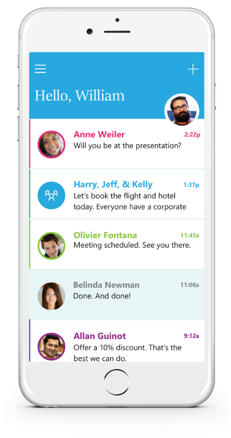 Microsoft Introduces New Send App For iPhone